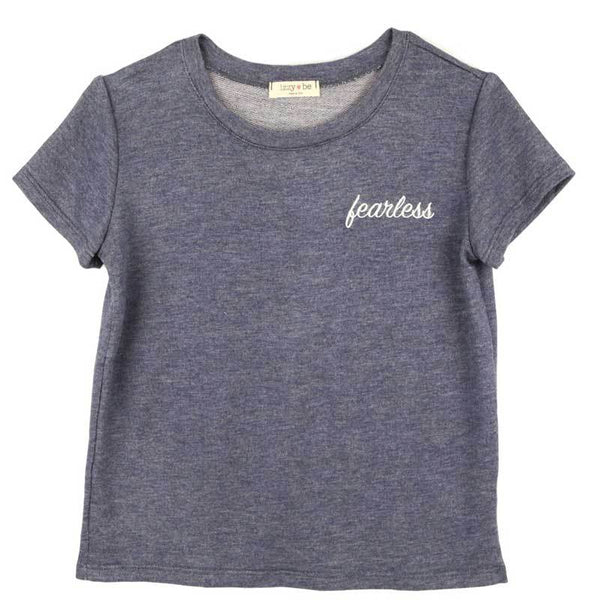 Izzy Be Denim Fearless Tween Tee