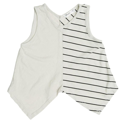 Joah Love Linen Maru Stripe Tank - Little Skye Children's Boutique
