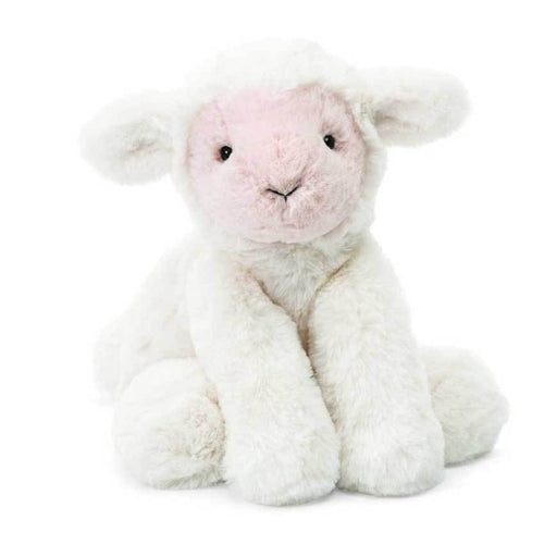 Jellycat lamb stuffed animal white