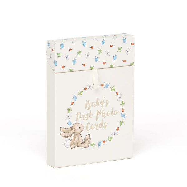 Jellycat baby's first milestone photo cards