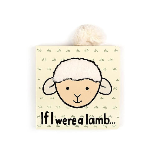 Jellycat Baby Board Book If I Were a Lamb