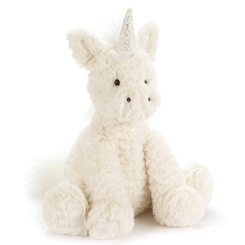 Jellycat unicorn stuffed animal Fuddlewuddle