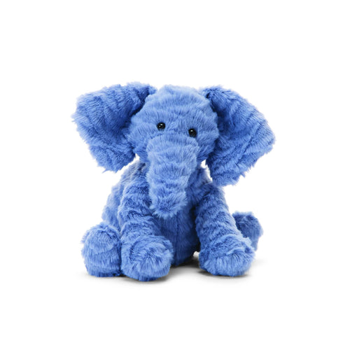 Jellycat Baby Elephant Stuffed Animal Blue