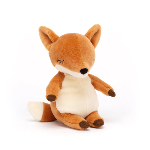Jellycat Fox Stuffed Animal Orange