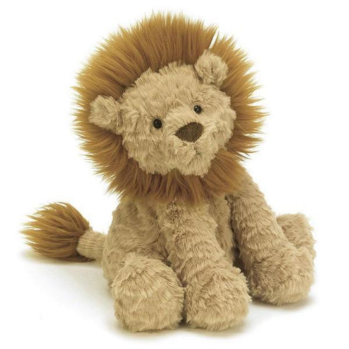 Jellycat lion stuffed animal fuddlewuddle