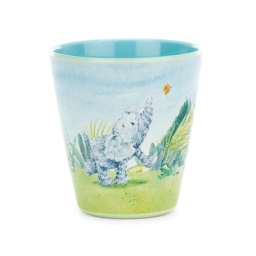 Jellycat elephant melamine cup for kids