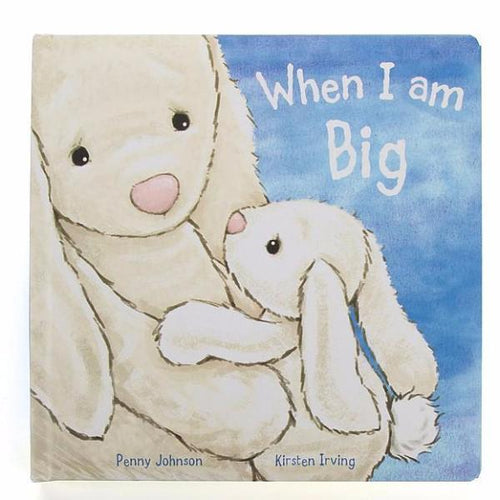 Jellycat bunny book When I am Big