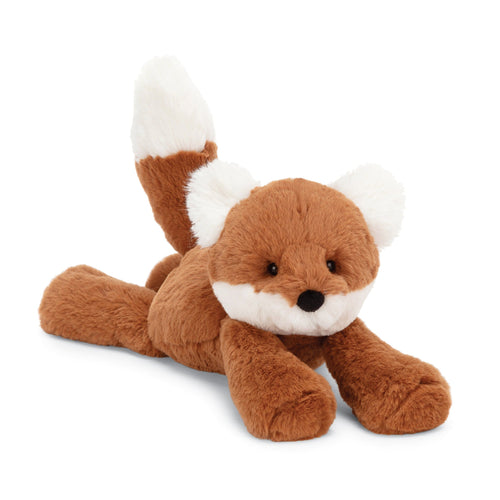 Jellycat smudge fox stuffed animal orange