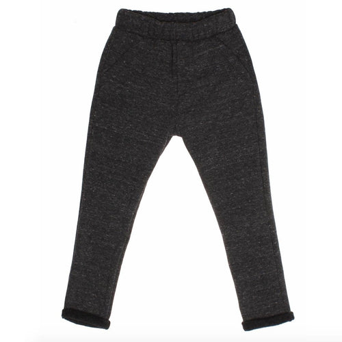 Joah Love charcoal grey knit kids pants