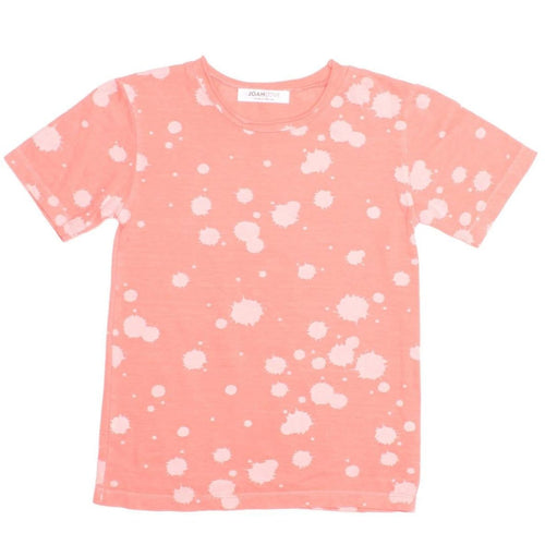 Joah love coral short sleeve boys t-shirt