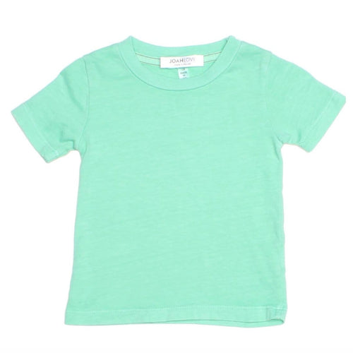 Joah love aqua short sleeve boys t-shirt