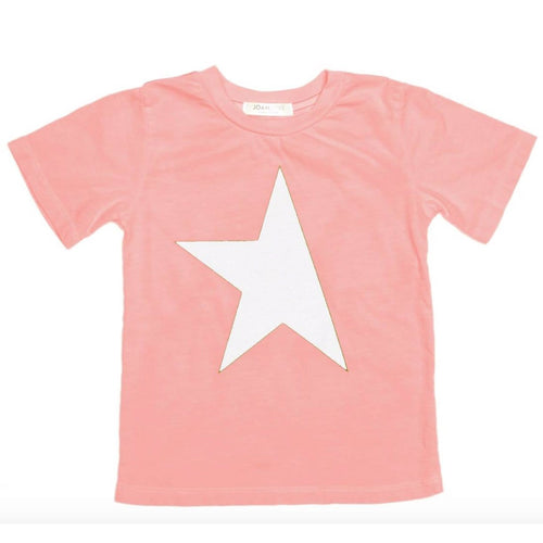 Joah love coral short sleeve boys graphic t-shirt