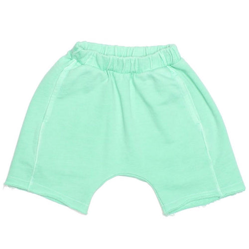 Joah love aqua knit boys shorts