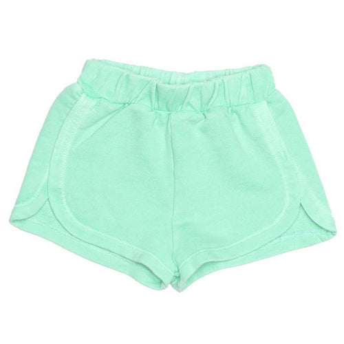 Joah love aqua knit girls shorts