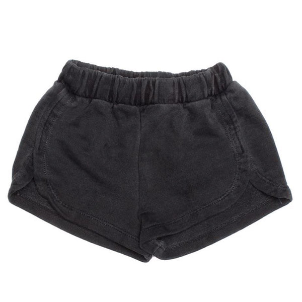 Joah love black knit girls shorts