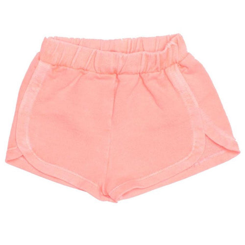 Joah love coral knit girls shorts