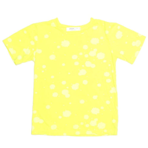 Joah love yellow short sleeve boys t-shirt