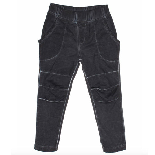 Joah Love boys black distressed knit pants