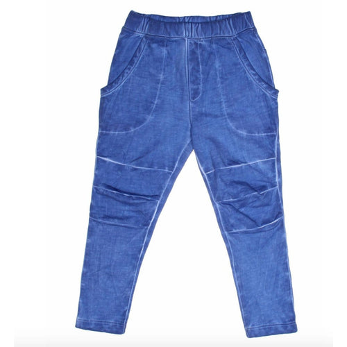 Joah Love blue distressed slim boys pants