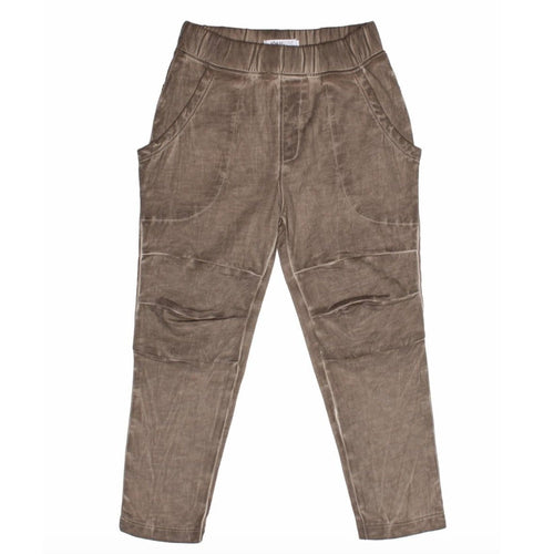 Joah Love brown distressed boys sweatpants