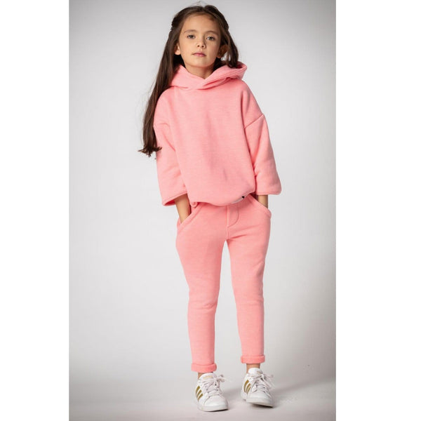 Joah Love pink fleece girls sweatpants