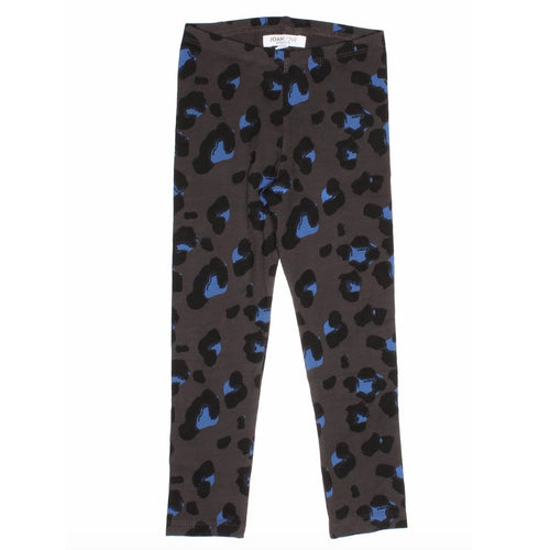 Joah Love grey cheetah print girls leggings