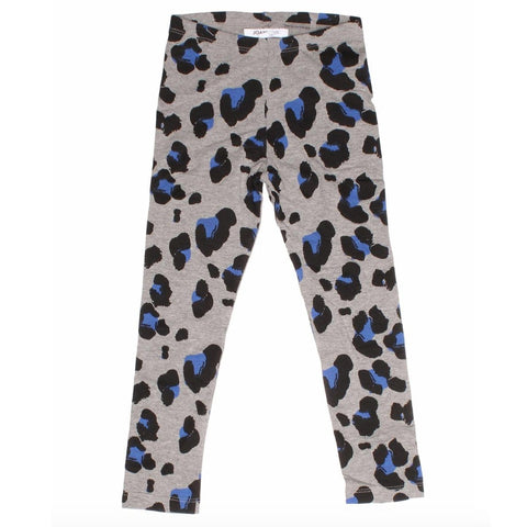 Joah Love Heather Grey Cheetah Girls Leggings
