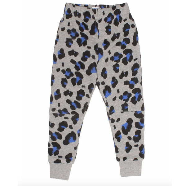 Joah Love heather grey cheetah girls joggers