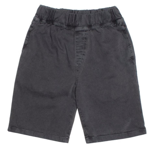 Joah love black knit boys shorts