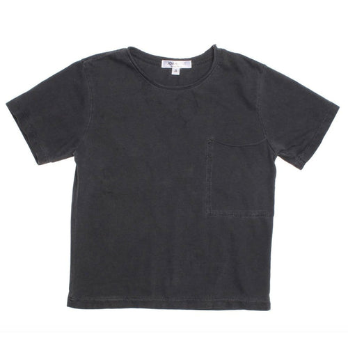Joah love black short sleeve boys tee