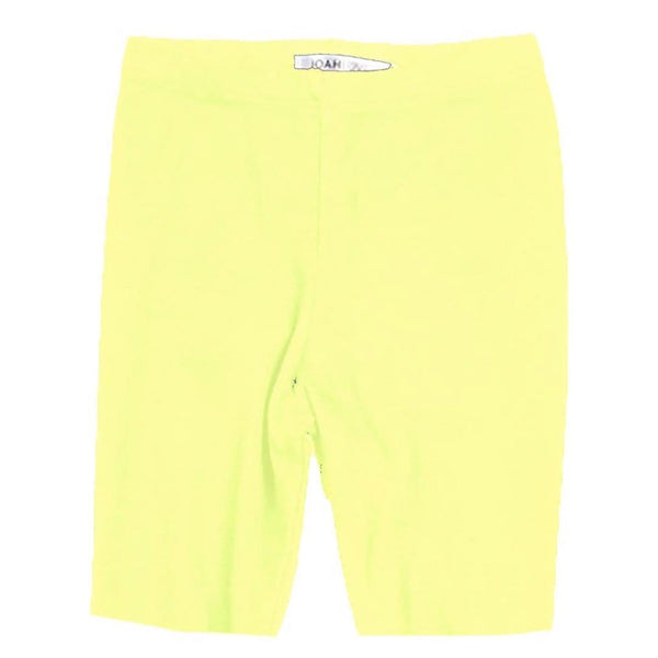 Joah love yellow neon girls bike shorts