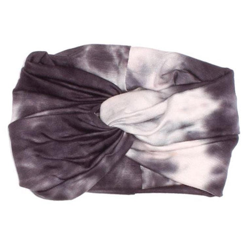Joah love grey tie dye girls headband
