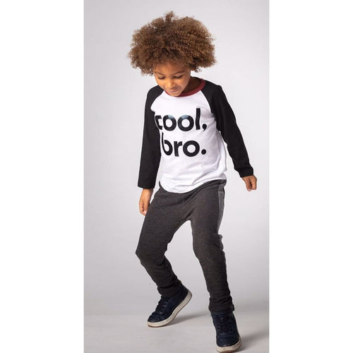 Joah Love long sleeve cool bro graphic tee for boys