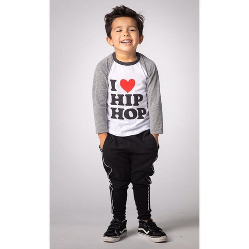 Joah Love hip hop baseball boys graphic t-shirt