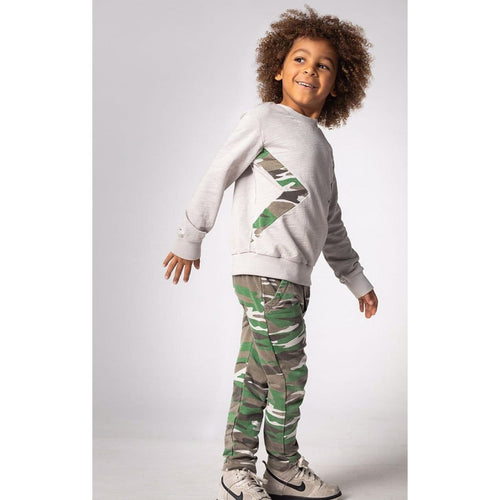 Joah Love green camo pants for boys