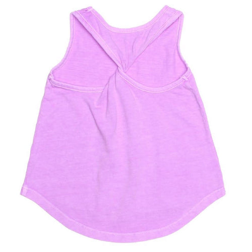 Joah love purple jersey girls tank top