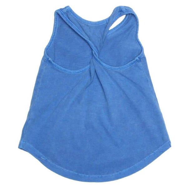 Joah love bright blue girls sleeveless top