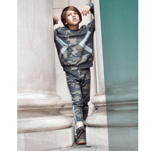 Boys camo sweat pants by Joah Love