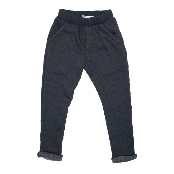 Joah Love Navy Fleece Boys Sweat Pants