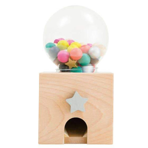 Wooden Gumball Dispenser Toy