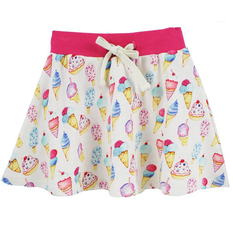Ice Cream Print Skort by Little Skye (Preorder)