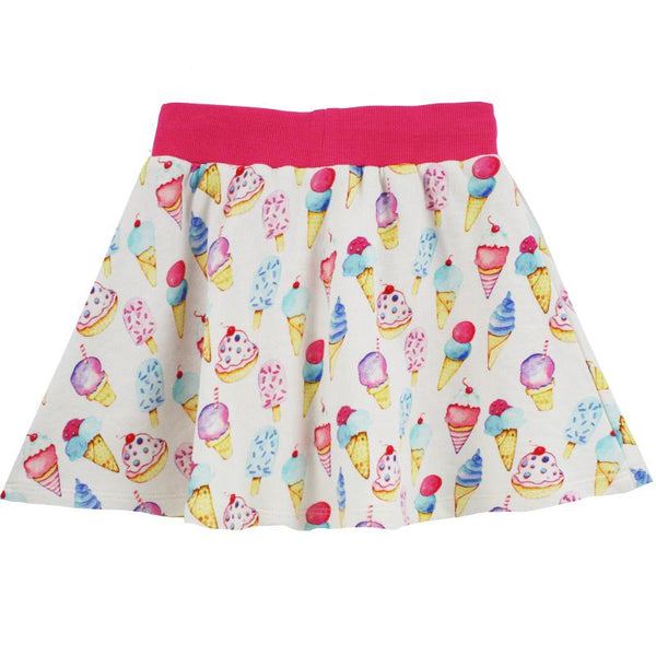 Ice Cream Girls Skort back