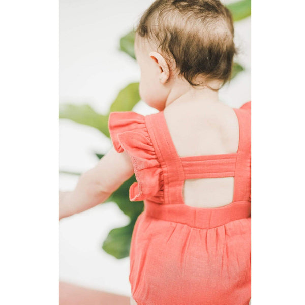 Loved baby pink romper for baby girl