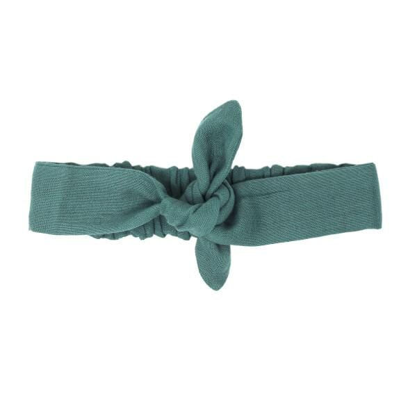 Organic Muslin Oasis Tie Baby Headband by L'ovedbaby