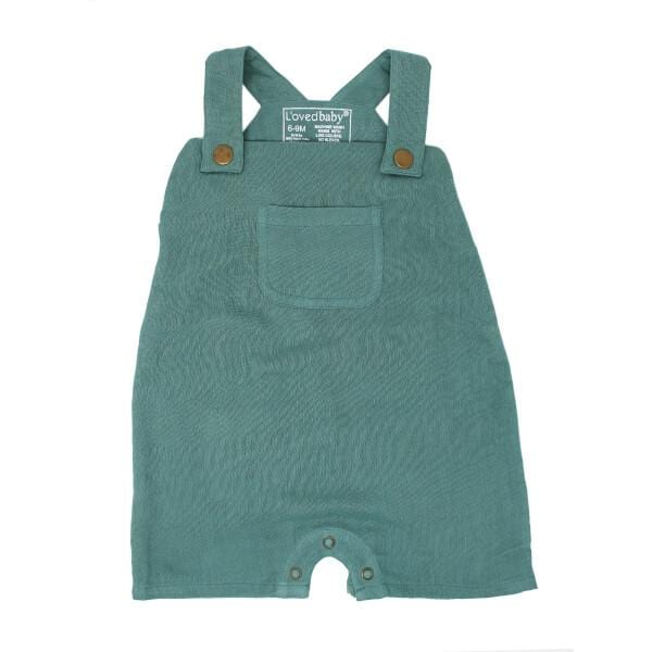 Organic Muslin Oasis Baby Overalls by L'ovedbaby