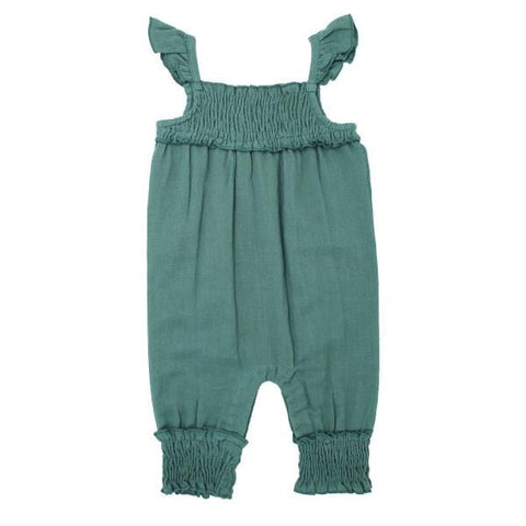 L'ovedbaby Organic Muslin Oasis Sleeveless Girls Romper