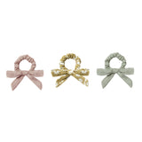 Rylee and cru pastel bow scrunchie set