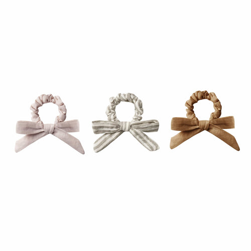 Rylee and cru bow scrunchie set for girls