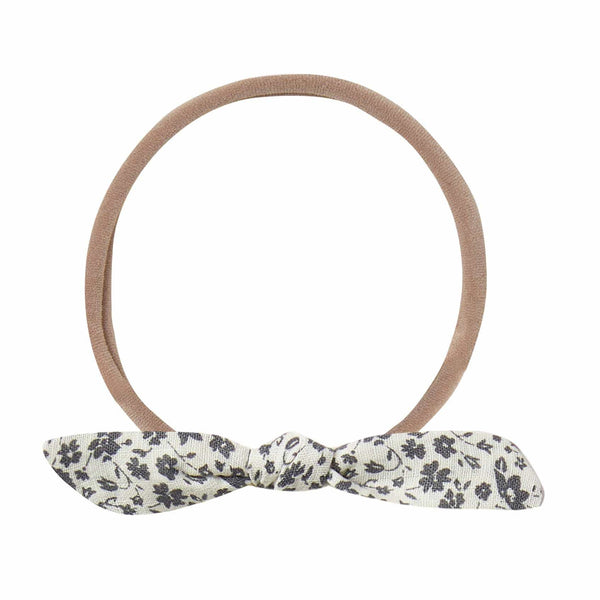 Rylee and Cru Ivory Floral Knot Baby Headband