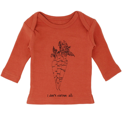 Lovedbaby orange long sleeve baby graphic t-shirt